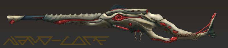 Demonic Sniper Rifle Commission by Nano-Core