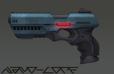 Scifi Handgun Commission