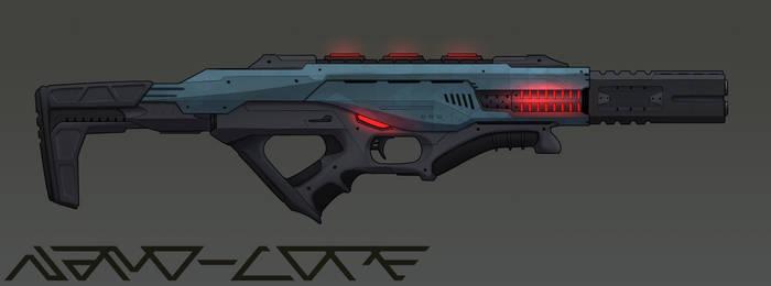 SciFi Energy Assault Rifle Commission
