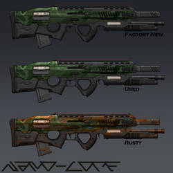 Assaultrifle Commission by Nano-Core