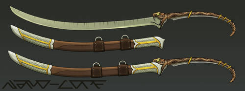Snake Sword Weapon Auction (closed) by Nano-Core