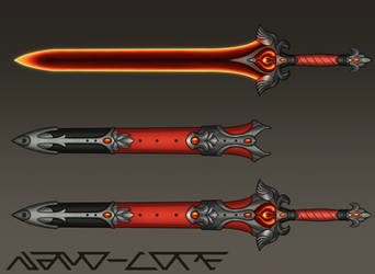 Blazing Sword Weapon Auction (closed) by Nano-Core