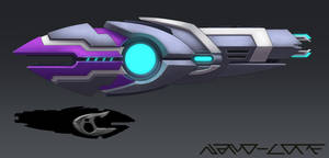 Sci Fi Alien Pulsrifle Commission