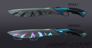 Sci Fi Sword Weapon Auction (closed)