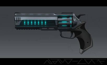 Gauss Revolver Commission