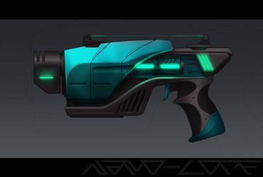 Plasma Burst Pistol Weapon Auction (closed)