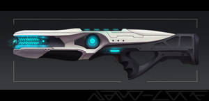 Frost Shock Rifle Weapon Auction (closed)