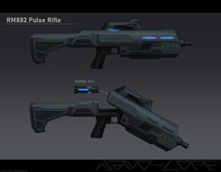 RM882 Pulse rifle Commission