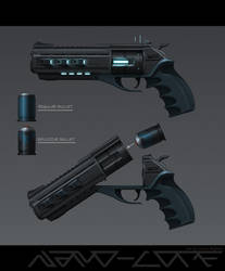 Sci Fi Hand Cannon Absolution