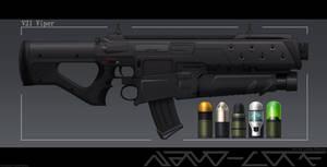 V21 Viper Grenade launcher attachment