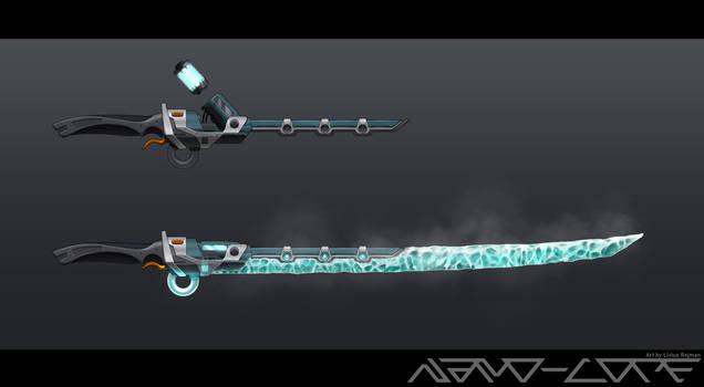 SciFi Ice Katana