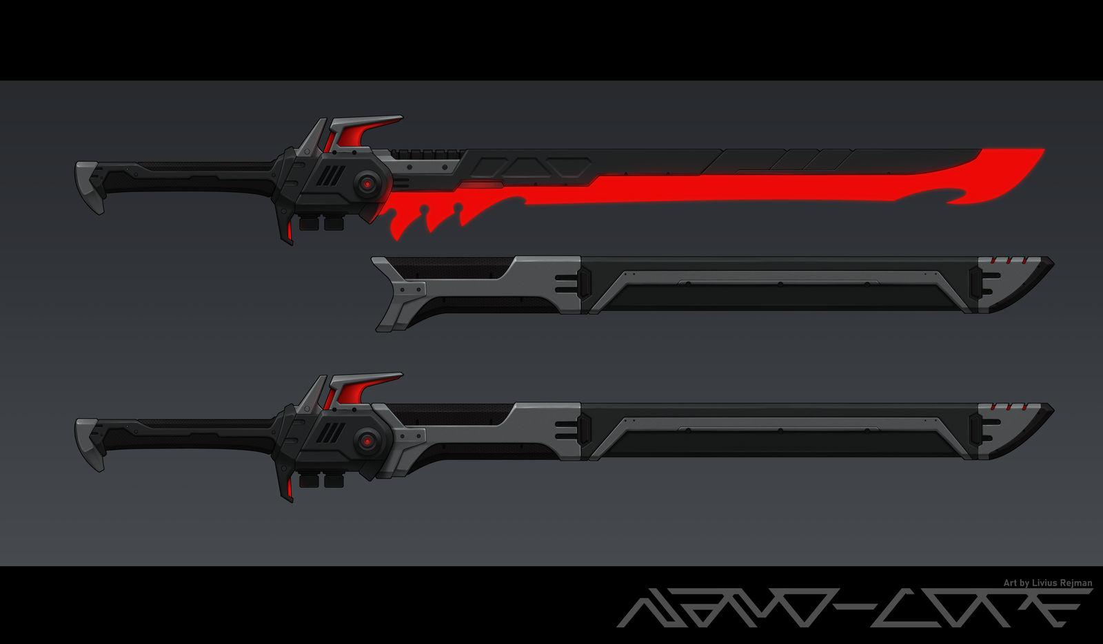 Sci-Fi Energy Sword