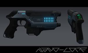Sci Fi Pistol M.A.P. Mk II