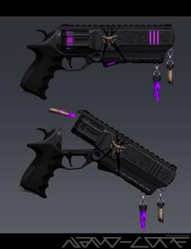 Sci Fi Demonic Revolver: Hollow Throne