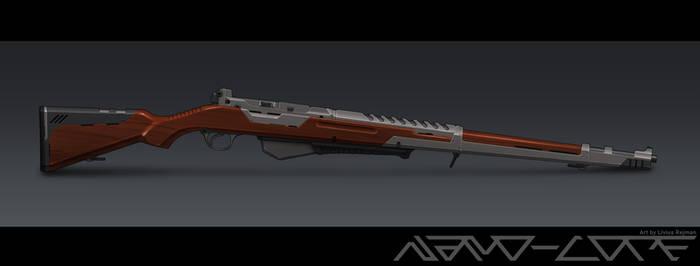 Sci Fi Pedersen Rifle