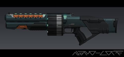 Sci Fi Coil Shotgun