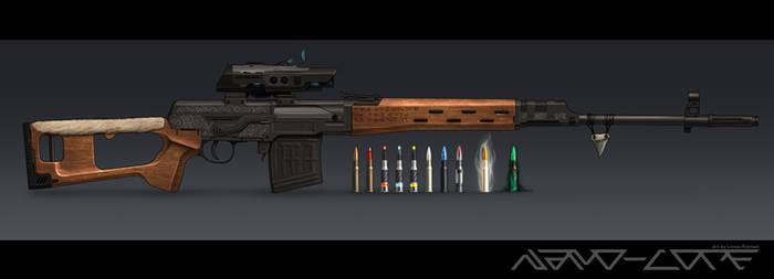 Sci Fi Dragunov SVD - Pack Hunter