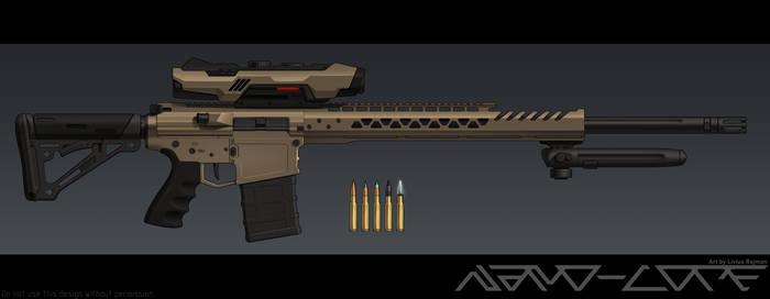 Modern AR-10 - Freya