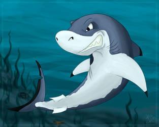 Blacktip Shark also Shark week by Claimoar