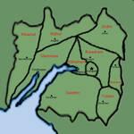 Calenmor Political Map