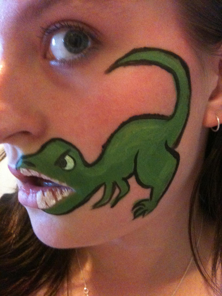 Snail Face Paint