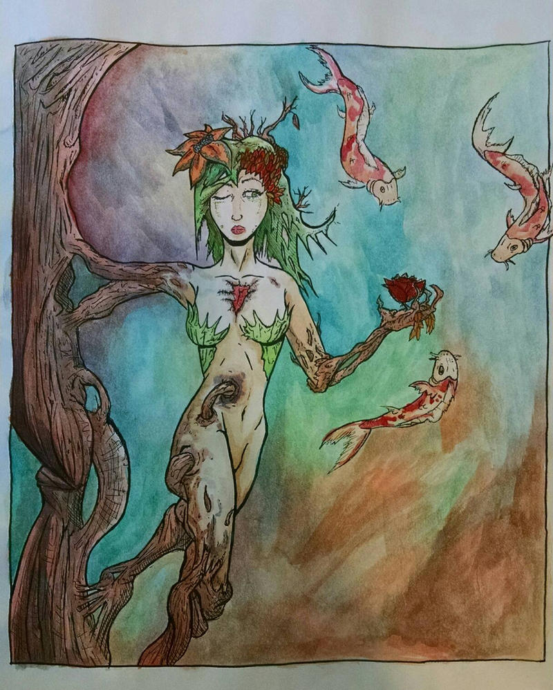 Woman of wood by SinisterJoke