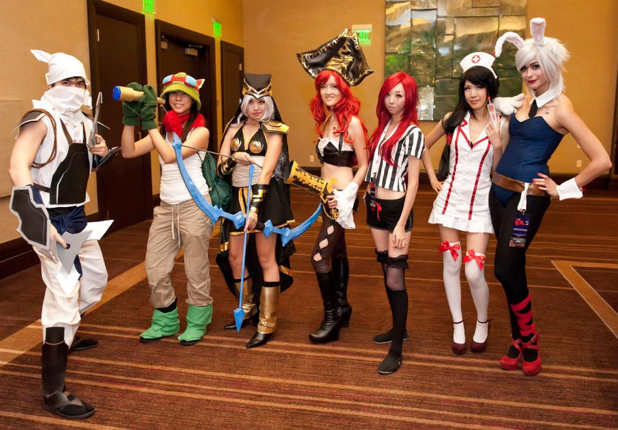 ... Go Back > Gallery For > League Of Legends Female Characters Cosplay