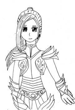 Knight Comander Neria Dragon Age