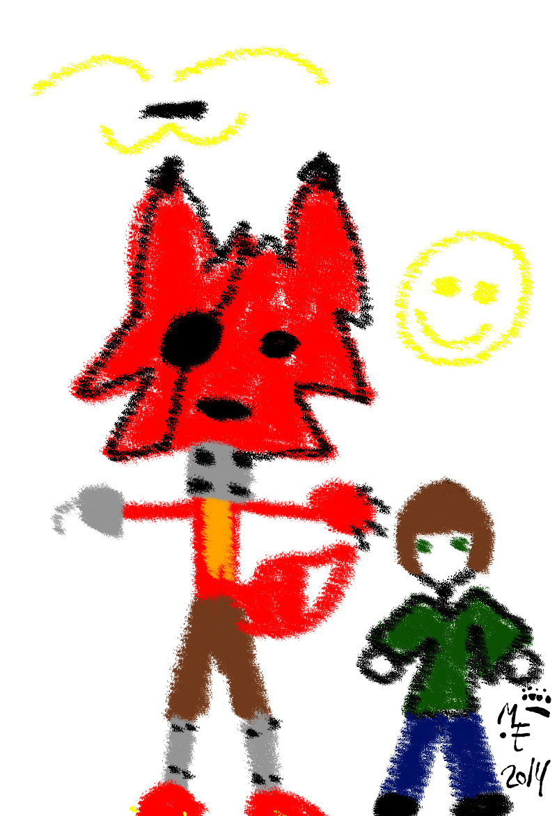 Foxyolive: Five Nights At Freddy's Foxy And Olive By Wolfheart01 On