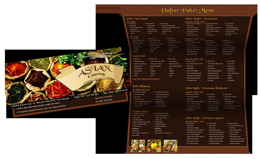 Catering Brochure by hazelblade on DeviantArt