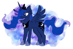MLP::Princess Luna by Koshi-Doshi