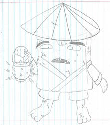 Monster Design #8 - Nurikabe