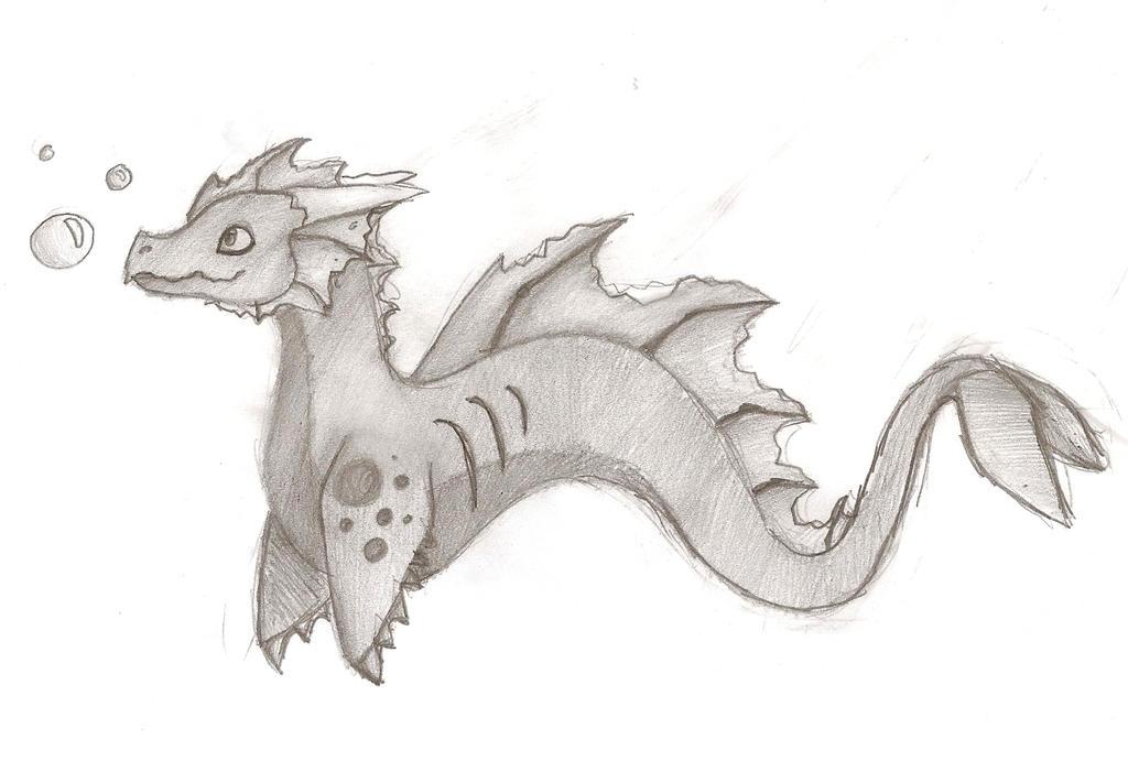 Underwater dragon by poelie its my rabbit on deviantart underwater dragon by poelie its my rabbit altavistaventures Image collections