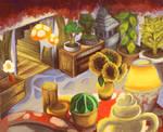 Mushroom Red Room