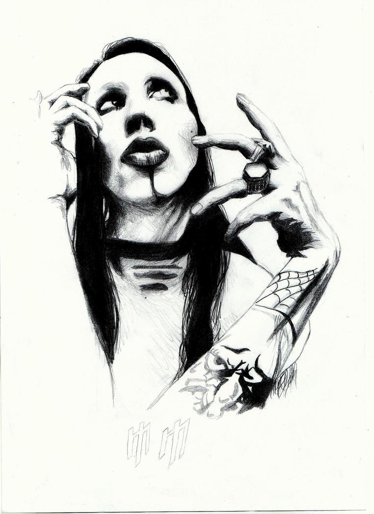 Marilyn Manson by runawayreality
