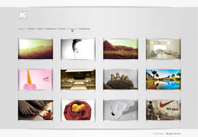 Webdesign  Photography website by Caronade