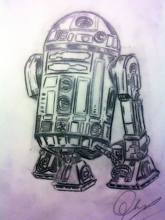 R2-D2 by BrianMaiden