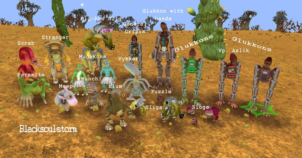 Oddworld creatures in spore by blacksoulstorm on deviantart - Spore galactic adventures wallpaper ...