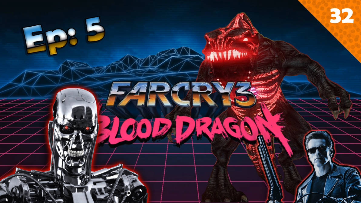 Far Cry 3 Blood Dragon Ep5 I M Back Gameplay By Fede32steam On Deviantart