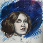 Princess of the Galaxy - RIP Carrie Fisher