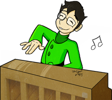 John Egbert at Piano