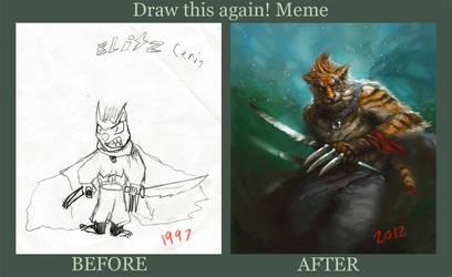 Draw This Again: Blitz Cerin
