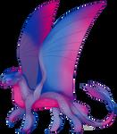 Pride Flag Light Fury Adopt 6 by darkflamethedragon