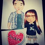 Finchel Glee by HappyHarper