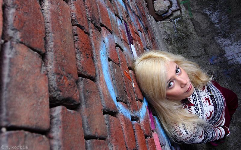 Brick Wall by yama-dharma