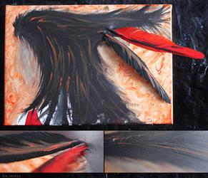 Burning Red by yama-dharma