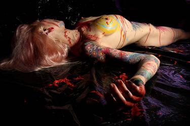 My Dying Art by yama-dharma