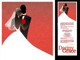 wedding invitation design by bordge