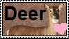 Deer Stamp by Shamrock733