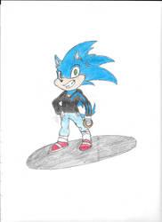 Sonic FFX C-Puff Style by YgvantheShaper